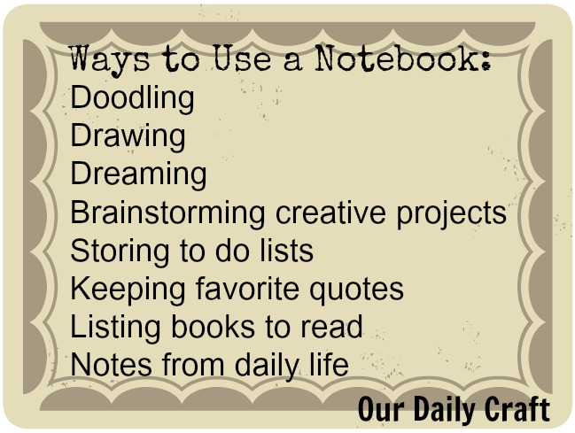 ways to use a notebook