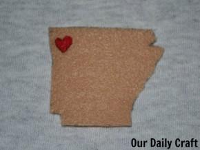 state love coffee sleeve