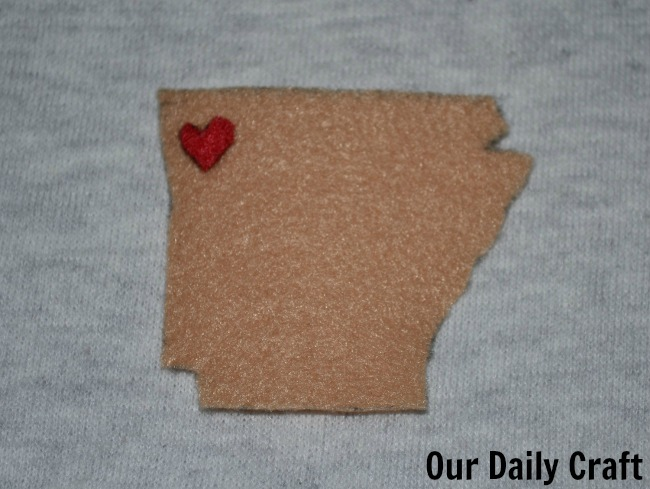 state love coffee sleeve