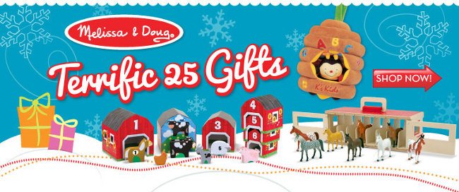 melissa and doug terrific 25
