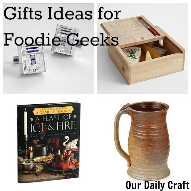 gift ideas for foodie geeks