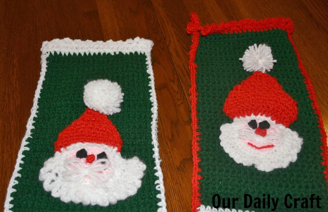 crocheted christmas stockings