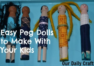 peg doll project
