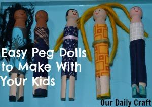 peg doll project