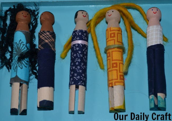 Peg Dolls: An Easy, Collaborative Craft