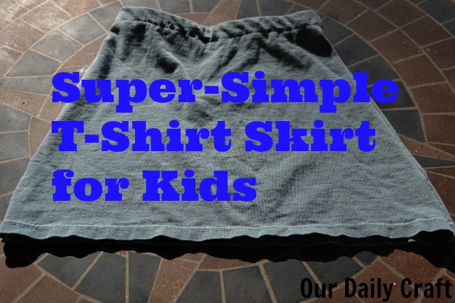 kids' tshirt skirt