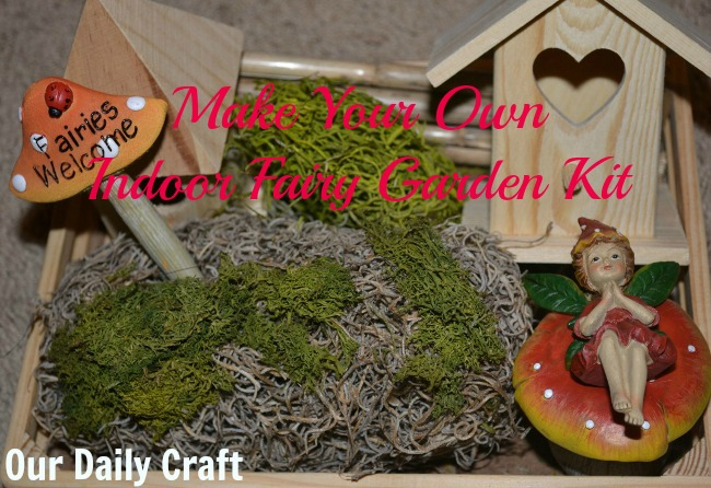 indoor fairy garden kit