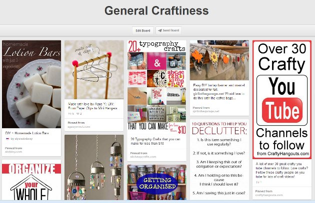 Spring Clean Your Pinterest Page: Break Up Boards