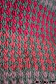 slip stitch knitting