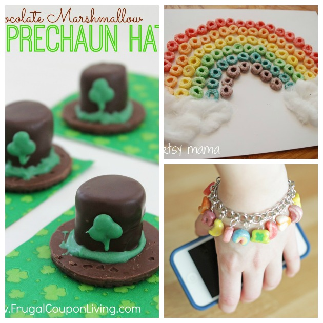 st patrikcs day food crafts