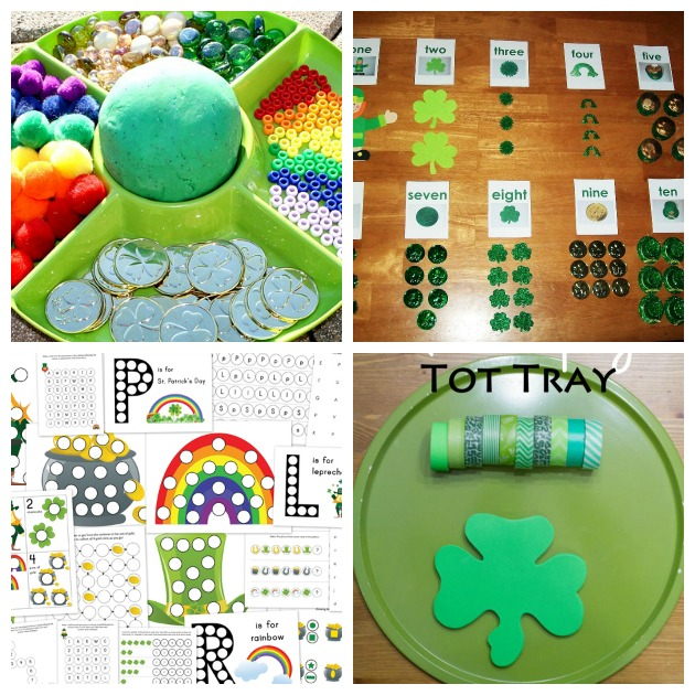 st particks day sensory montessori