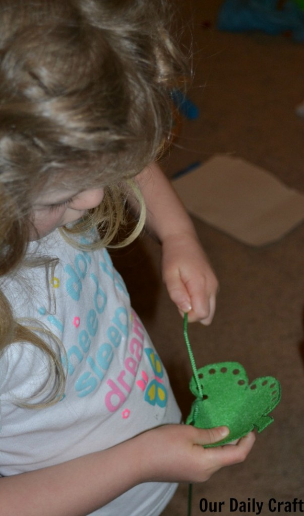 lacing shamrock activity