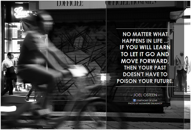 let go move forward