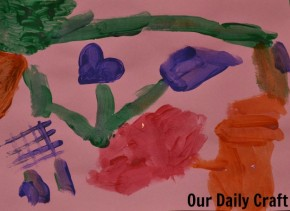 making art with kids