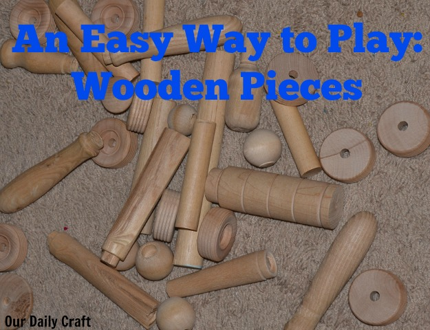 how to play with wooden pieces