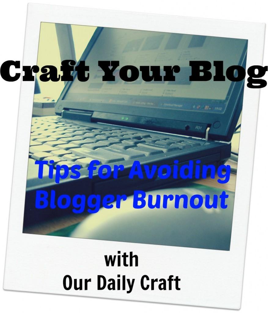 A radical solution for avoiding blogger burnout.