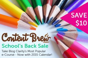 content brew is on sale for 48 hours only