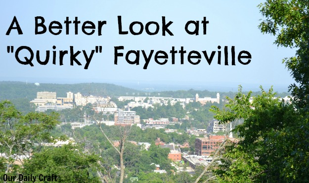 Travel & Leisure was right about Fayetteville, but didn't get the reasons.