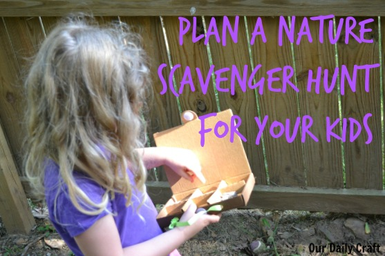 Ideas for an outdoor scavenger hunt