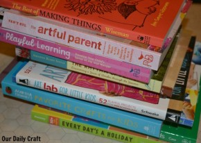 Art/activity books are a great choice for school holidays and vacations.
