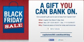 capital one balck friday sale