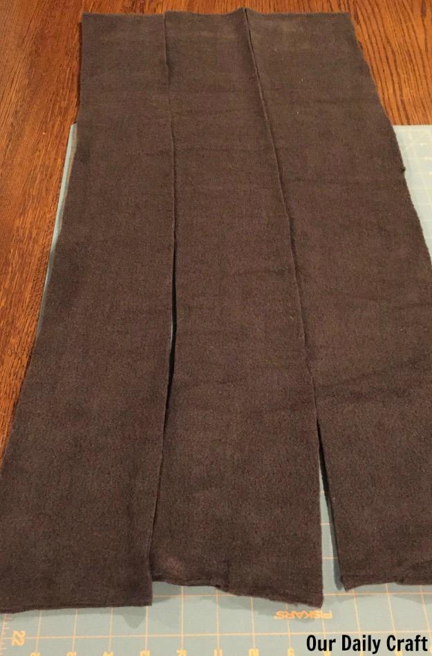 fleece scarf pattern