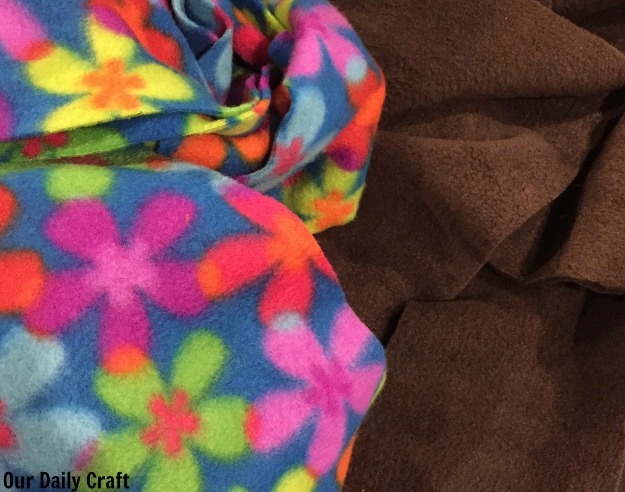 fleece scarf diy