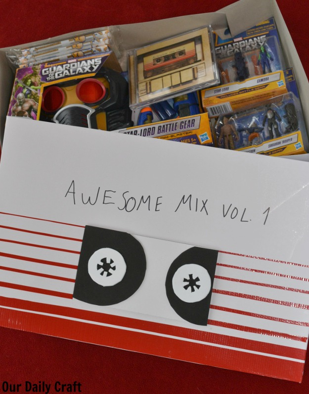 awesome mix tape gift box diy
