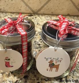 teacher gift candied pecans