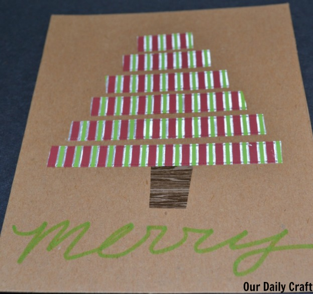 easy christmas card diy