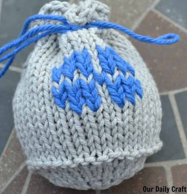 apple cozy knitting pattern