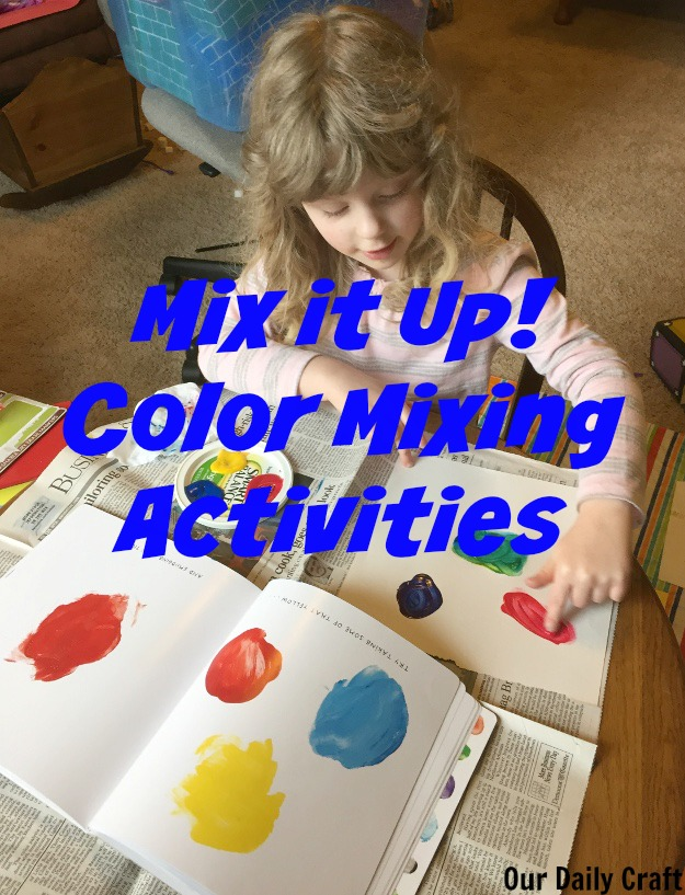 mix it up color mixing activites