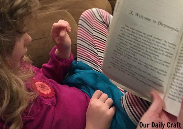 reading favorite books to kids