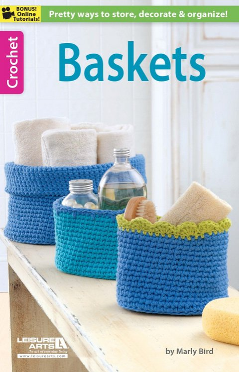 Baskets by Marly Bird is a great way to get crafty with your storage.
