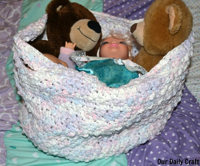 Marly Bird's Basket booklet is full of easy crochet projects.