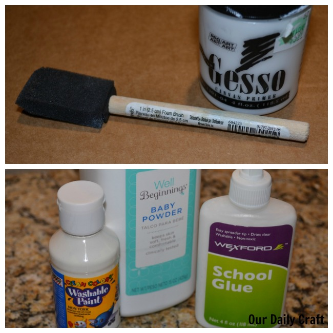 homemade gesso ingredients