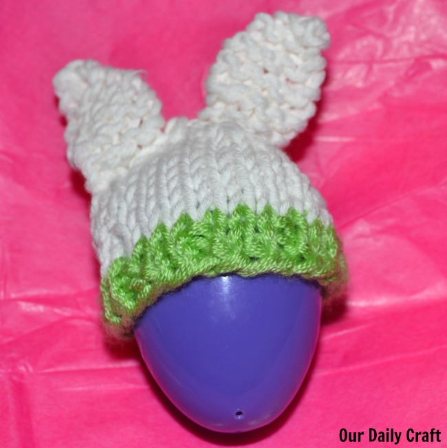 bunny egg cozy knitting pattern