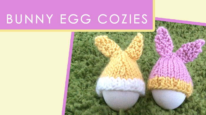 Knit Egg Cozy Or A Hat For A Plastic Easter Egg Iron Craft Our
