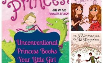 unconventional princess books
