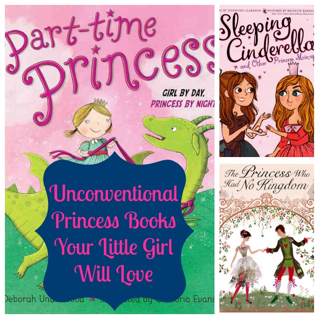 unconventional princess books