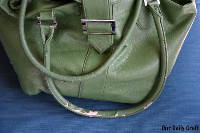 purse straps falling apart