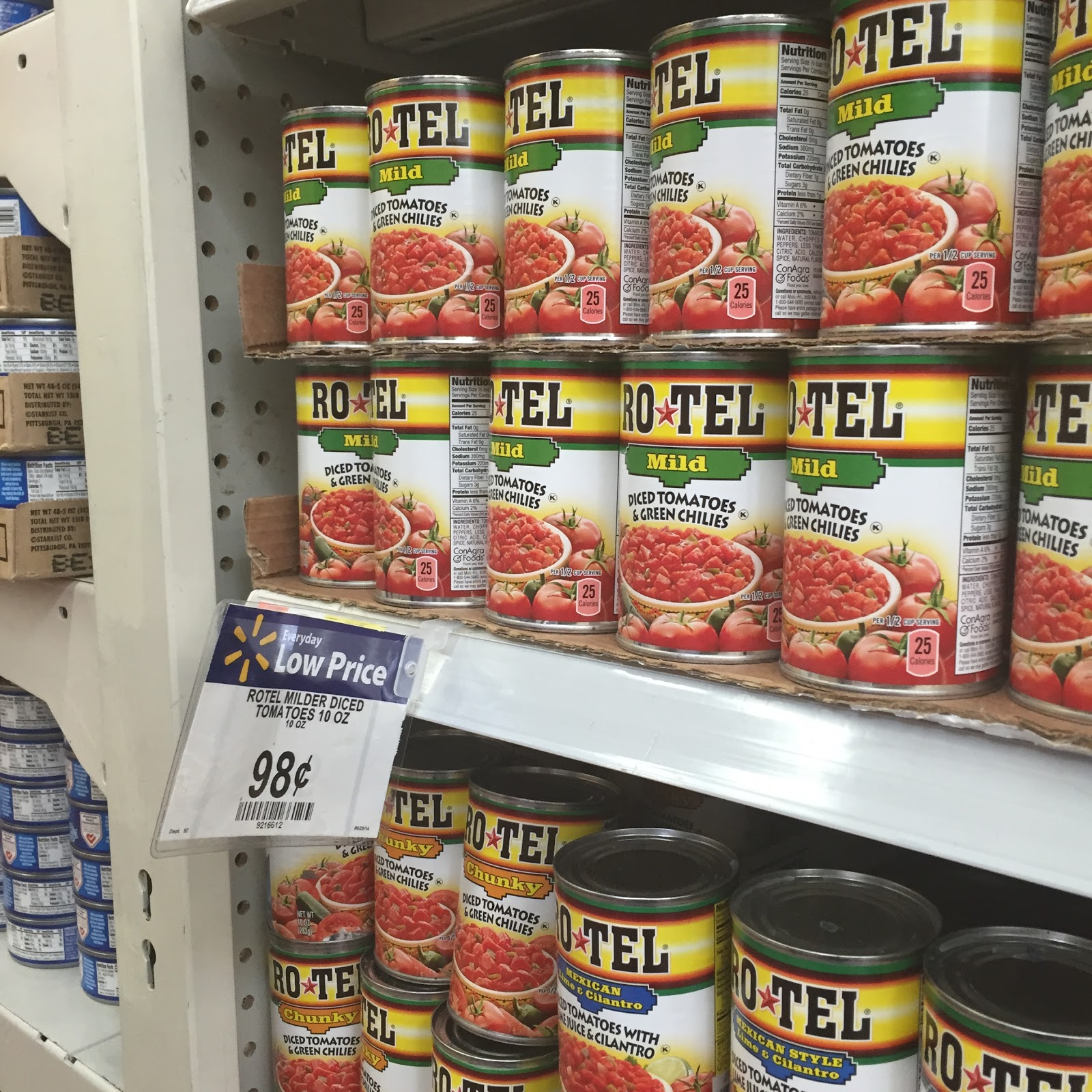 Check Out this Walmart RO*TEL Coupon and #JustAddRotel