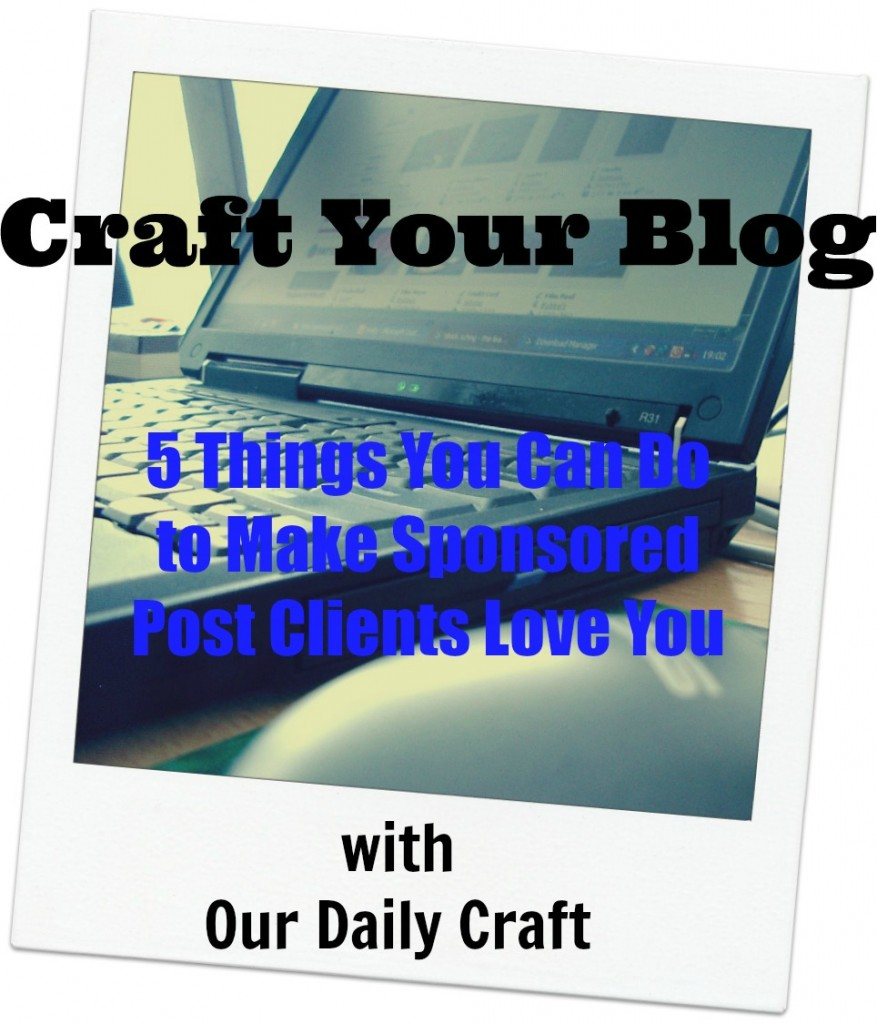 tips for writing sponsored posts your clients will love
