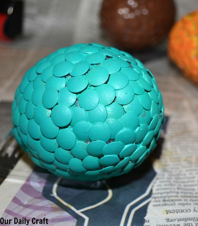 painted dragon egg