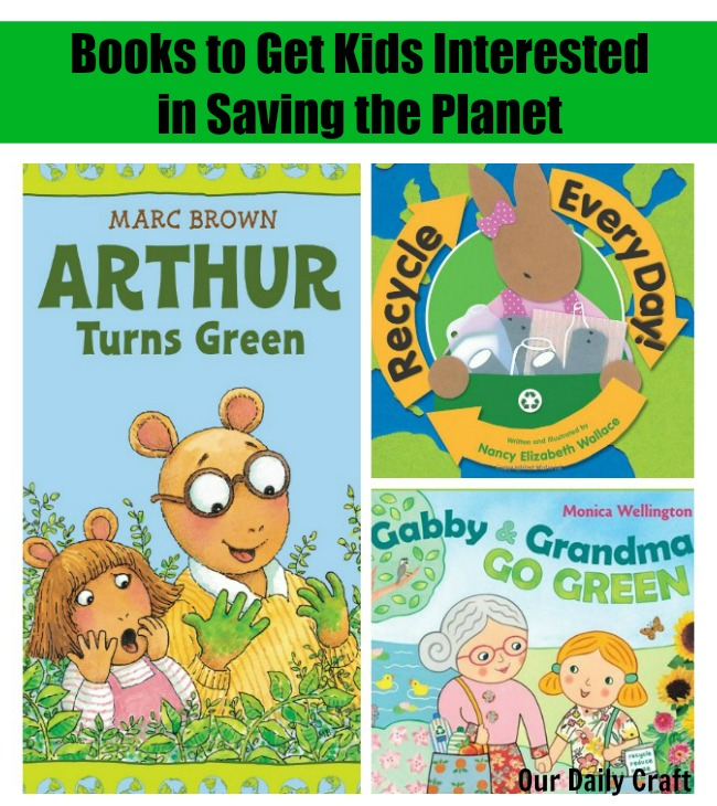books to get kids interested in saving the planet