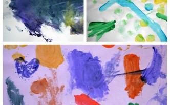 print making paintings
