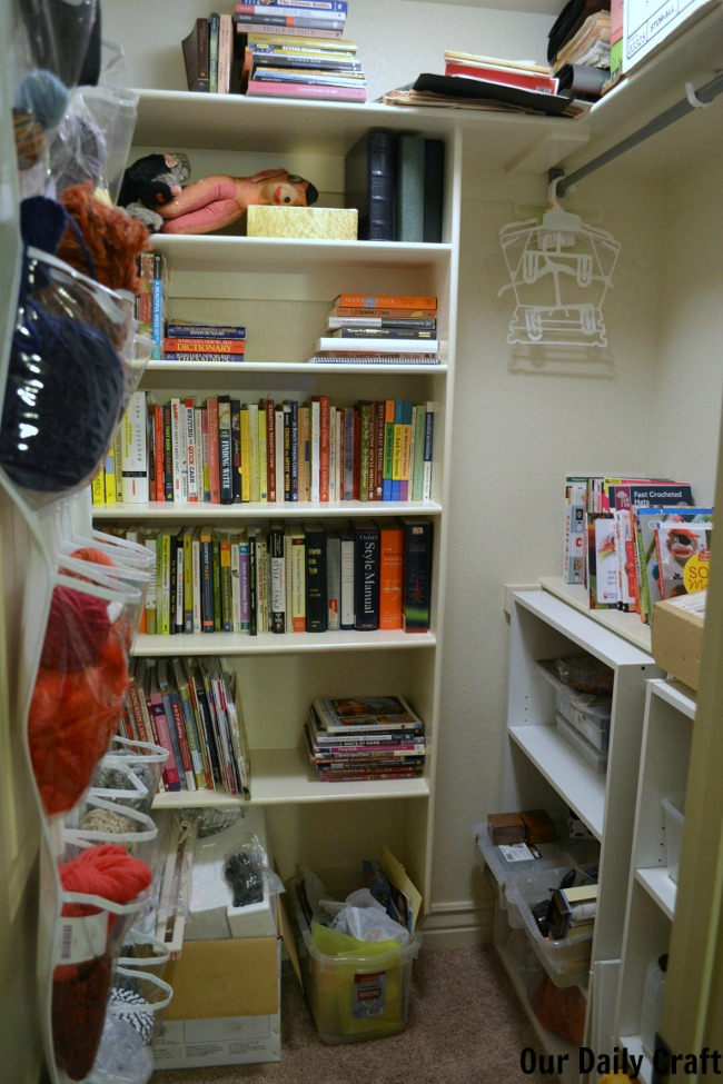 clean craft closet