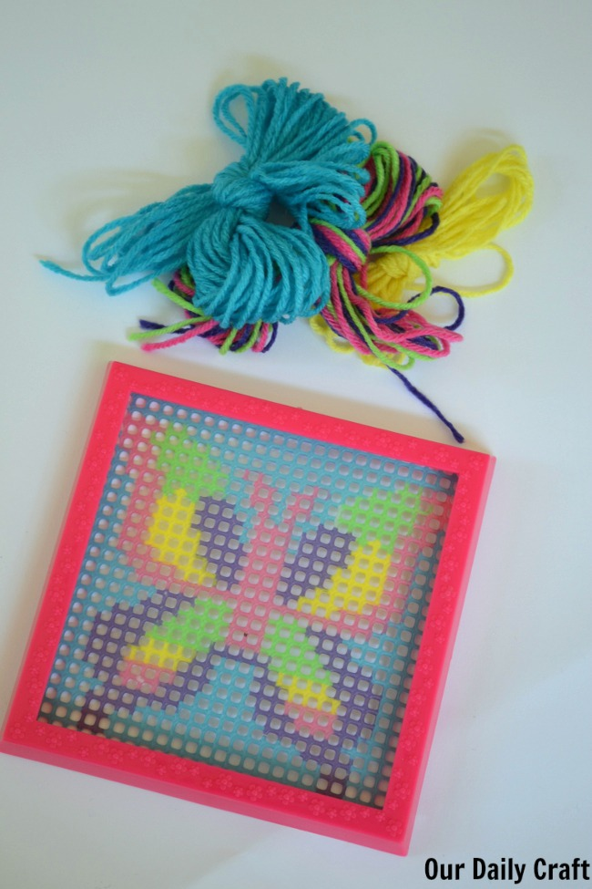 kids embroidery kit
