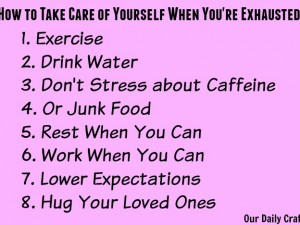exhaustion tips