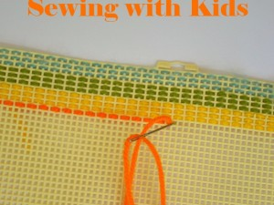 getting started sewing with kids